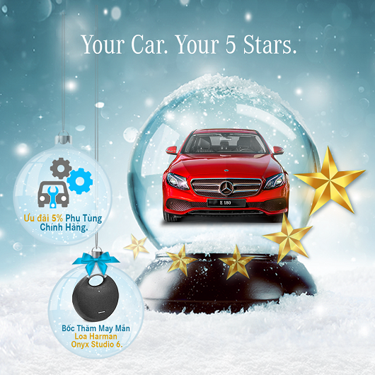 Your Car. Your 5 Stars