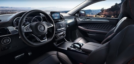 nội thất Mercedes-Benz GLE 400 4MATIC Coupe
