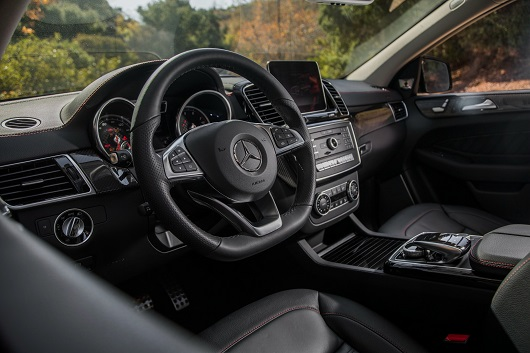nội thất Mercedes-AMG GLE 43 4Matic Coupe