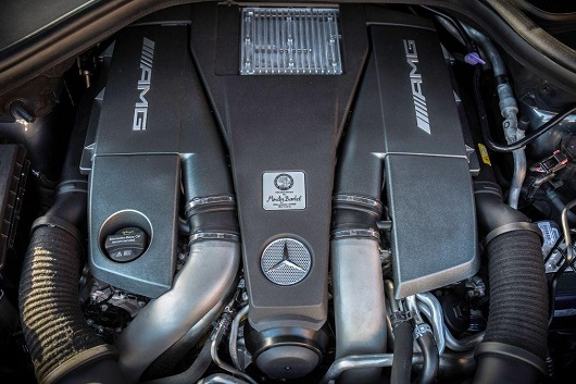 động cơ Mercedes-AMG GLE 63 4MATIC Coupe