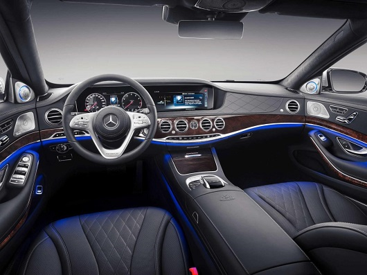 nội thất xe Mercedes-Maybach