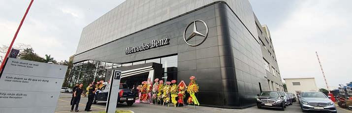 Vietnam Star Automobile ra mắt showroom Mercedes